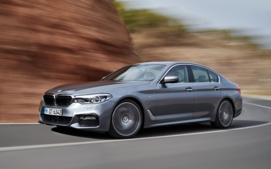 BMW aims to overtake top-seeded Benz with new 5 series