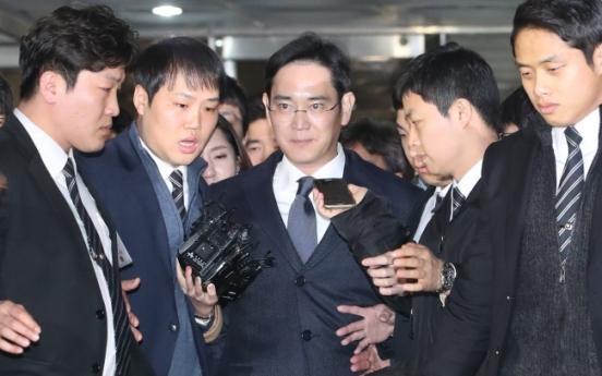 Samsung heir Lee Jae-yong arrested for bribery