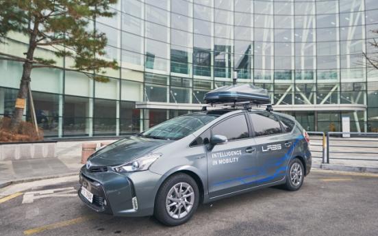 [Photo News] Naver's autonomous vehicle wins government license