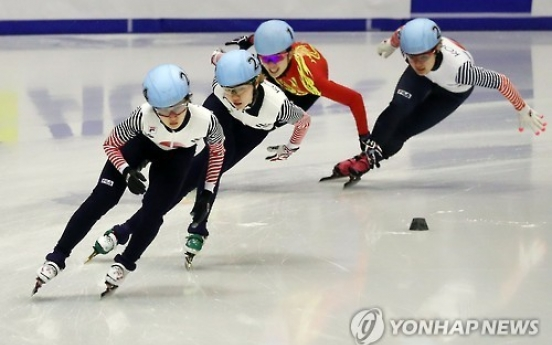 S. Korea picks up 2 short track titles