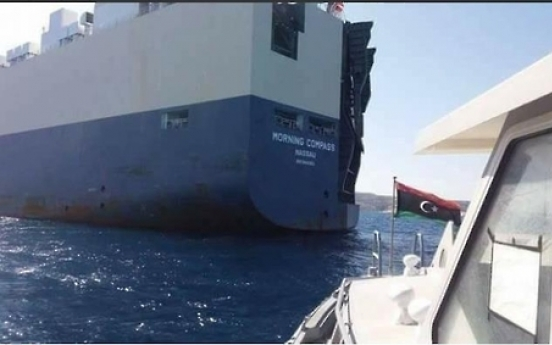 South Korean ship released after being seized by Libyan military
