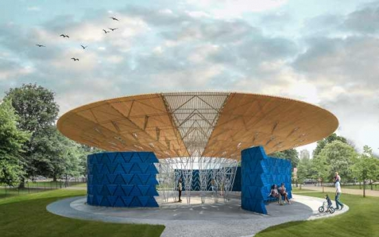 Burkina architect Kere honoured with UK pavilion project