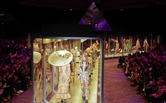 Gucci presents otherworldly collection in Milan