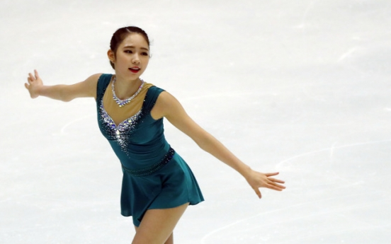 Figure skater Choi Da-bin wins women's short program