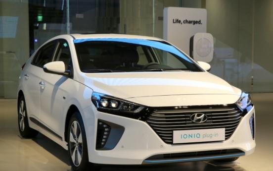Hyundai launches new Ioniq plug-in green car