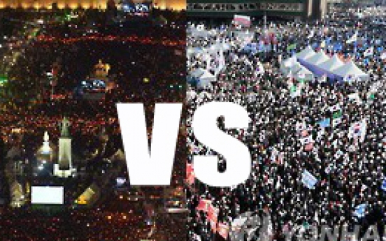 Tensions rise amid possibility of clash between Park's supporters, opponents