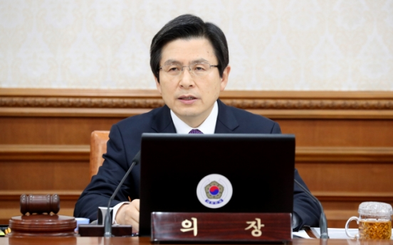 Acting president vows to take stern actions against NK provocations