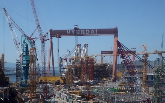 Hyundai Heavy shares hit 52-week high on hope for recovery, spin-off