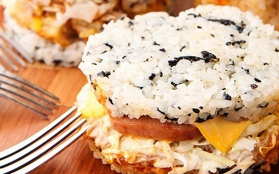 'Rice burgers' high in sodium: report