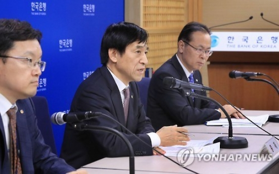 BOK chief says Korea should brace for possible US rate hike