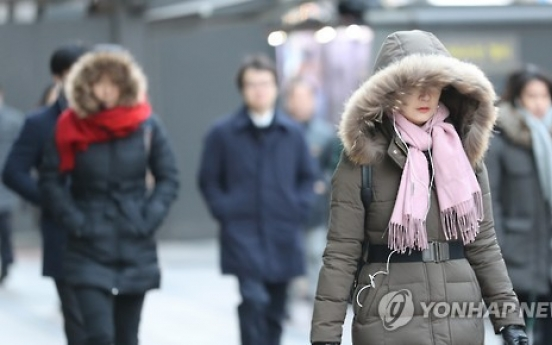 Spring cold snap to hit Korea on Tuesday
