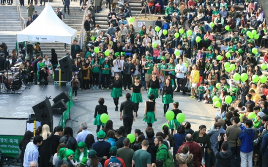 IAK St. Patrick's Day fest invites Seoulites to 'be Irish for a day'