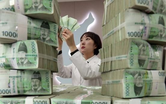 Korea's money supply up 6.9% in January
