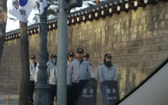 Police beef up security around court on day of ruling on Park's fate