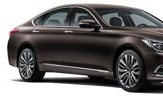 Hyundai Motor's G80 sells over 30,000 in Korea