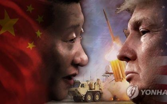 N. Korea, THAAD key topics for Trump's summit with Xi: White House
