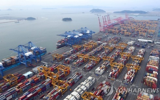 Korea logs 61st consecutive month of trade surplus in Feb.