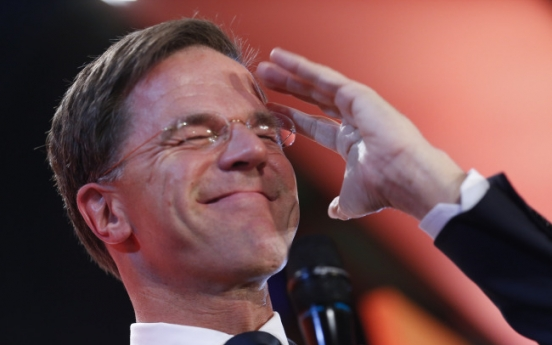 [Newsmaker] Dutch PM Rutte beats off 'wrong kind of populism'