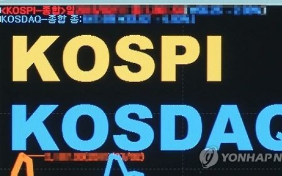 KOSPI-KOSDAQ gap widens amid bullish mood for big caps