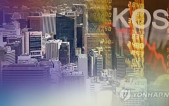 Korean stocks up in late morning trade