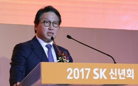 Prosecution summons SK chief Chey over scandal of impeached president