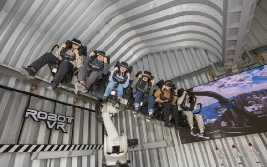 Everland launches new virtual reality robot ride
