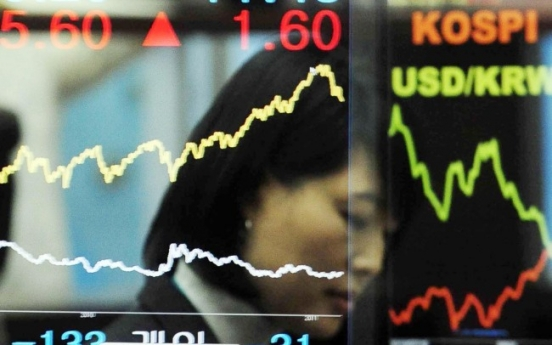 Korean shares retreat on Wall Street losses
