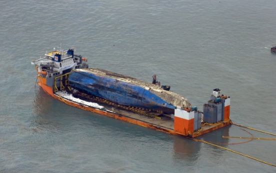 Crucial preparations complete to relocate Sewol to shore