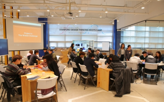 Dankook Univ. educates design thinking for its students with diverse backgrounds