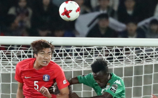 South Korean U-20 football team defender out for 6 weeks after collision