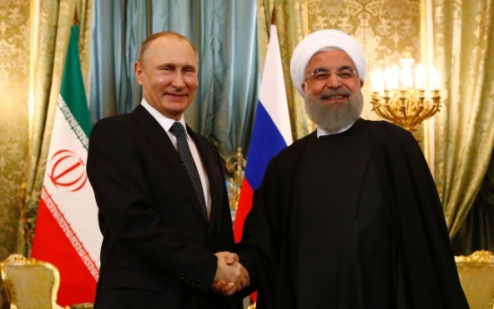 Putin to meet Iran's Rouhani in Moscow