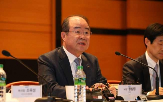 DSME chief urges workers to accept pay cuts