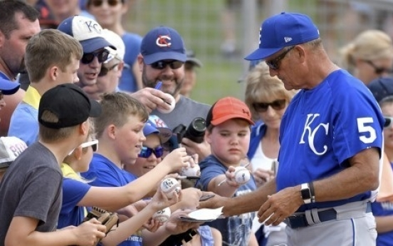 Hall of Famer George Brett to throw out ceremonial first pitch in Korea