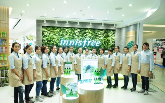 [Photo News] Innisfree opens first store in Indonesia