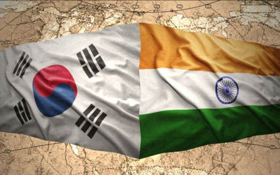 Korea, India hold meeting to expand economic cooperation