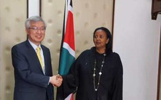 Korea, Kenya discuss closer economic collaboration