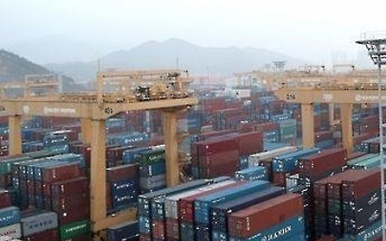 Korea's trade dependence hits 10 year low
