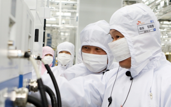 SK's ICT exports surges after hynix buyout