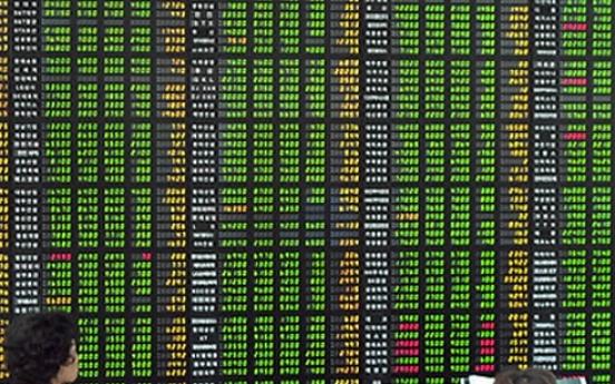 Korean shares open lower on blue chip losses
