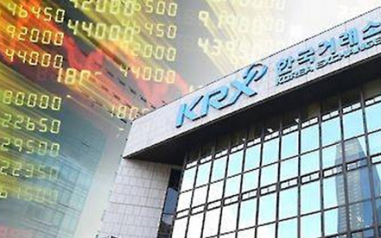 Korean shares down in late morning trade