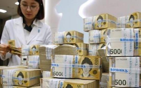 Korea's money supply up 5.9% in February