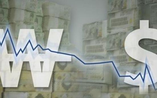 Dollar-won exchange volatility widens in March