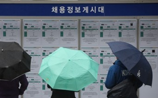 Korea's jobless rate falls to 4.2% in March