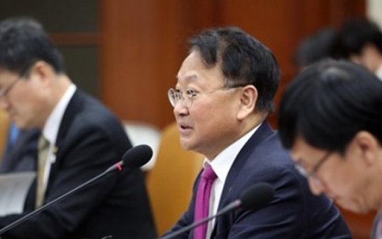 Recovering global economy may help Korea turn around: finance minister