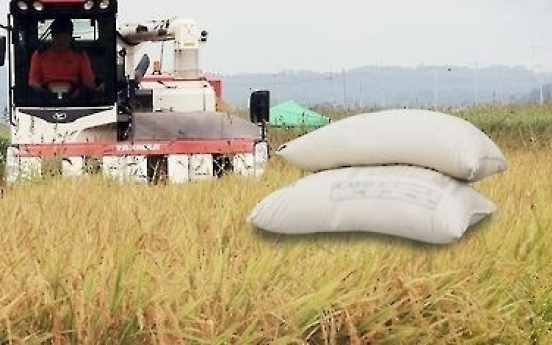 Korean rice to be sent to developing countries via int'l aid program