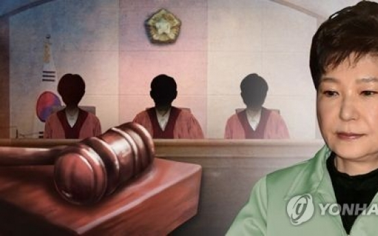 Prosecutors to indict Park, wrap up probe into corruption scandal