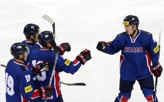 Men's nat'l hockey team departs for site of world championship