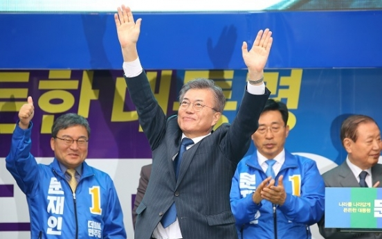 Moon promises cash, more jobs for elderly