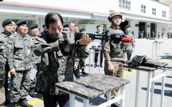 Defense chief urges more real combat training