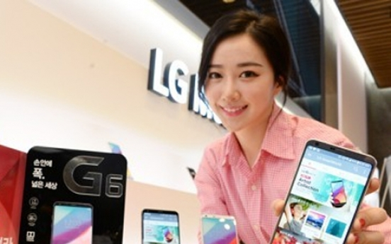 LG Electronics to release G6 in Europe next week